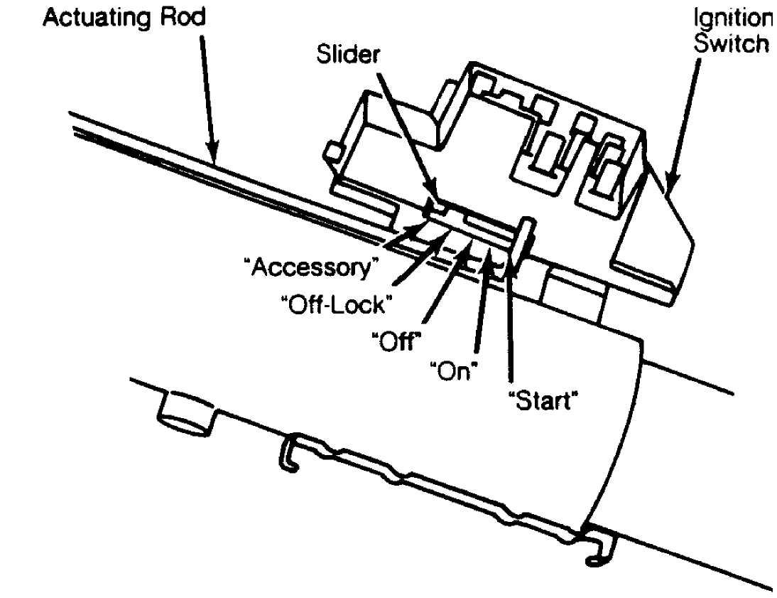 ignition switch  u0026 lock cylinder    1984