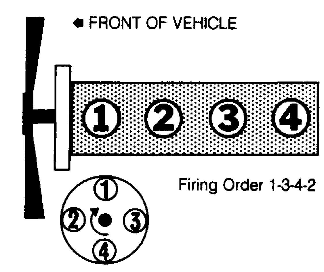 firing order on 2005 jeep liberty