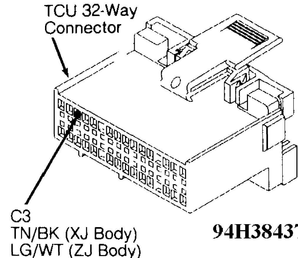 jeep aw4 transmission wiring diagram jeep t176