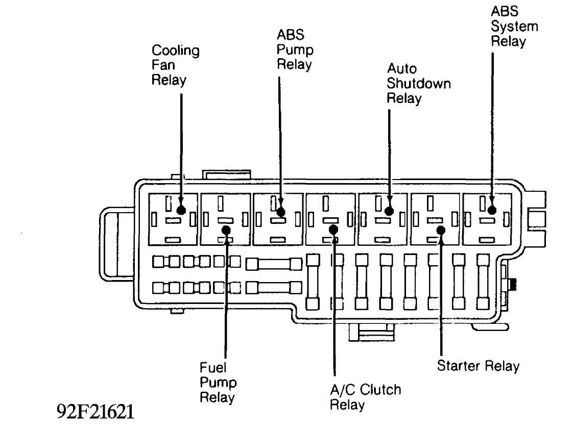 electrical component locator    1993    jeep cherokee  xj     jeep cherokee    online manual jeep