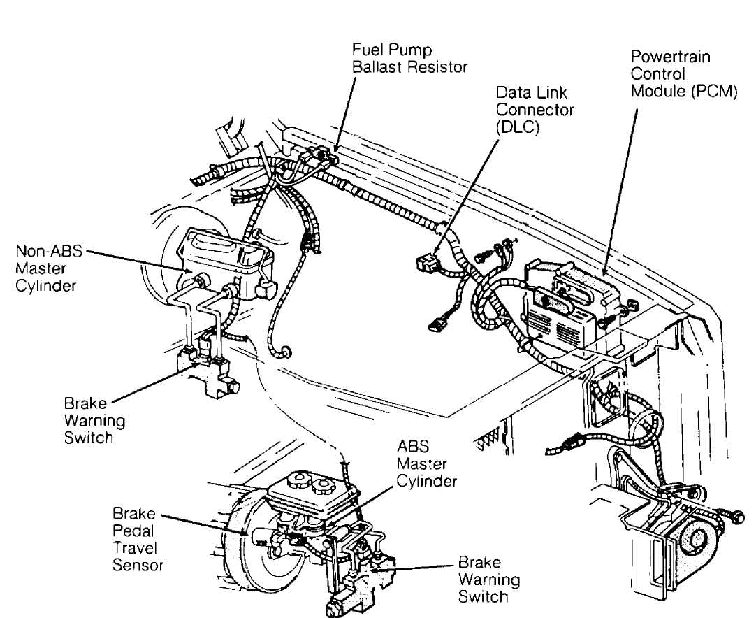 electrical component locator    1993    jeep cherokee  xj